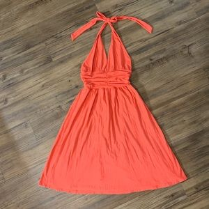 Ella Moss Halter Dress Tie Around Neck SZ Small